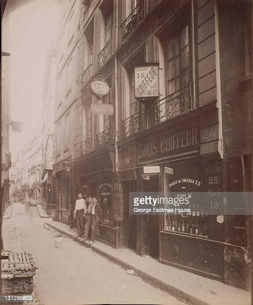 Rue Quincampoix - Appartenait a Vanelin, geolier du Chatelet , 1908.