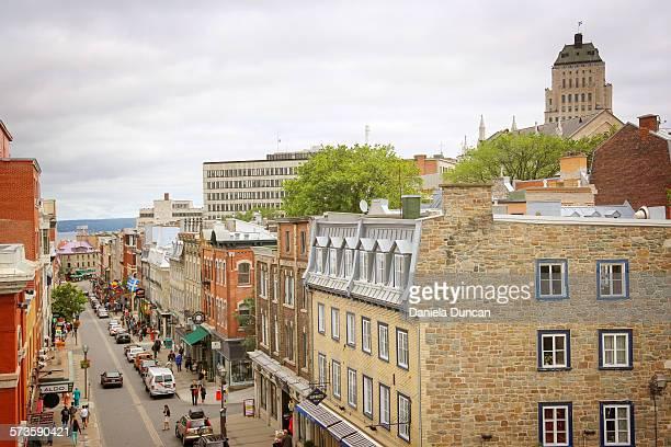 Rue Saint Jean in Quebec City