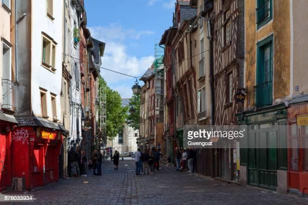 Rue Saint-Michel (Rue de la Soif) in Rennes