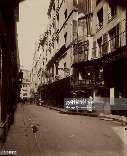 Rue Sauval 1903