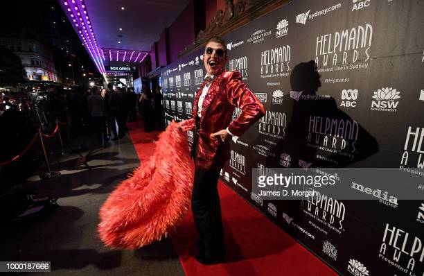 Rueben Kaye arrives at the 18th Annual Helpmann Awards at the Capitol Theatre on July 16 2018 in Sydney Australia The Helpmann awards are accolades...