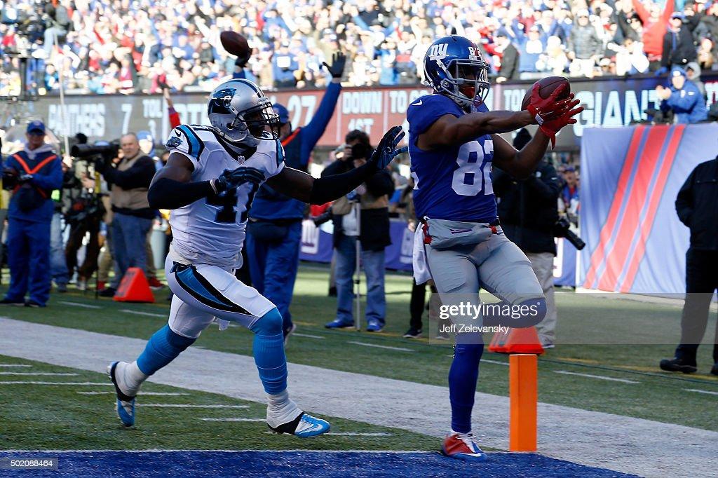 Carolina Panthers v New York Giants