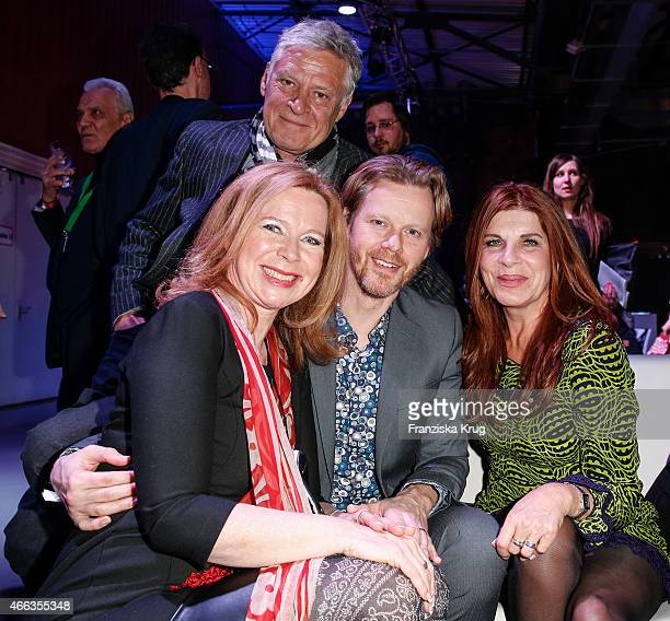 Ruediger Joswig Marion Kracht Berthold Manns and Claudia Wenzel attend the Spirit of Istanbul by Yeni Raki on March 14 2015 in Berlin Germany