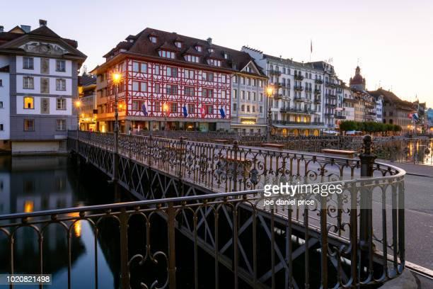 Ruess River, Sunrise, Lucerne, Switzerland