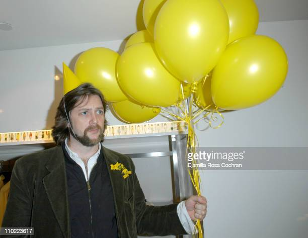 Rufus Albemarle during Bella Cuomo and Augustus Albemarle's Birthday Party March 17 2005 at Burberry in New York City New York United States