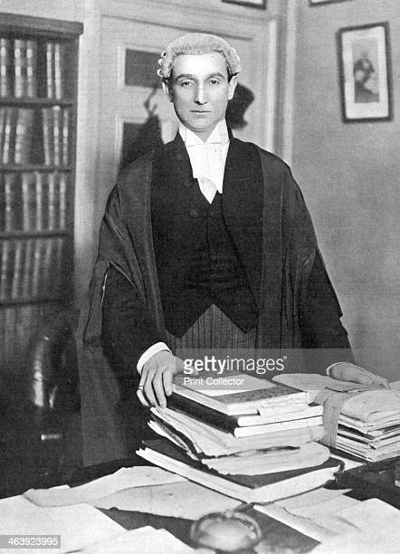 Rufus Daniel Isaacs British lawyer and statesman c1902 Isaacs in his chambers when he was an eminent King's Counsel but before he entered Parliament...