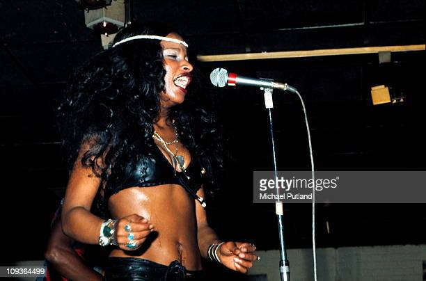 Rufus featuring Chaka Khan perform on stage London February 1975