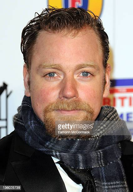Rufus Hound attends British Comedy Awards at Fountain Studios on December 16 2011 in London England