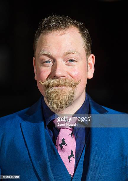 Rufus Hound attends the BAFTA Games Awards at Tobacco Dock on March 12 2015 in London England