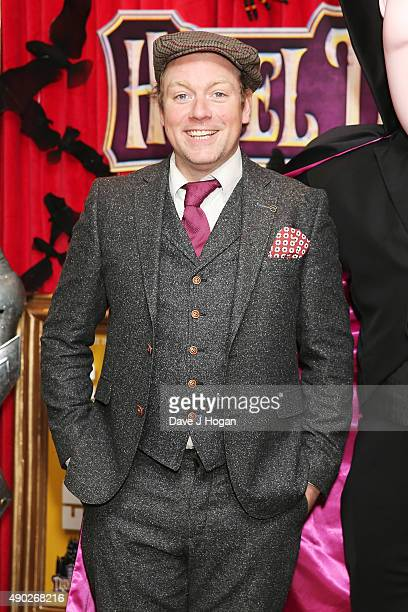 Rufus Hound attends the Hotel Transylvania 2 Tea Party and Gala Screening at The Soho Hotel on September 27 2015 in London England