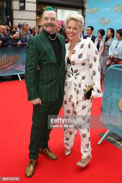 Rufus Hound attends the press night performance of 'The Wind In The Willows' at the London Palladium on June 29 2017 in London England