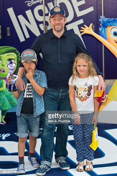 Rufus Hound attends the UK Gala Screening of 'Inside Out' at Odeon Leicester Square on July 19 2015 in London England