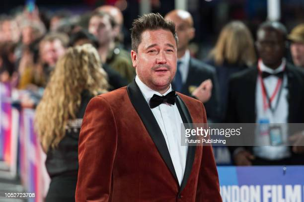 Rufus Jones attends the World Premiere of 'Stan & Ollie' at Cineworld, Leicester Square, during the 62nd London Film Festival Closing Night Gala....