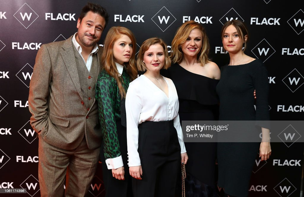 """Flack"" UKTV Premiere - Red Carpet Arrivals : News Photo"