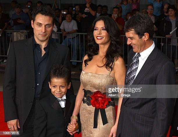 Rufus Sewell Adrian Alonso Catherine ZetaJones and Antonio Banderas