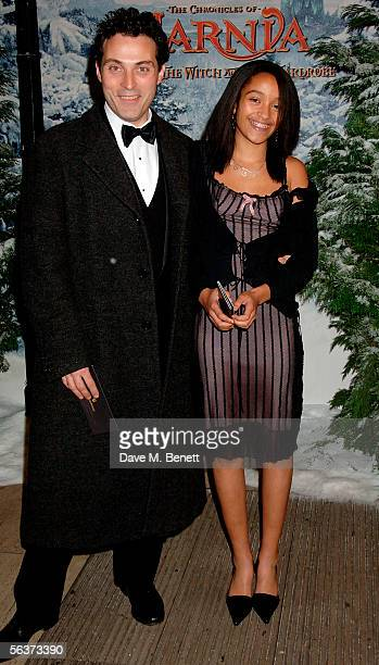Rufus Sewell and Amy Gardner arrive at the Royal Film Performance and World Premiere of 'The Chronicles Of Narnia' at the Royal Albert Hall on...