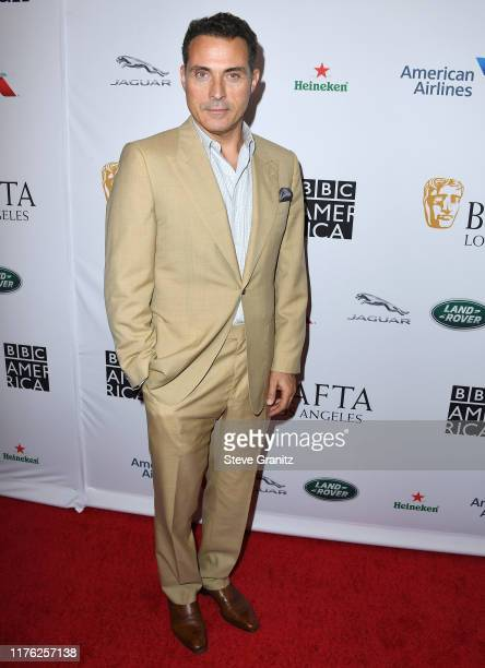 Rufus Sewell arrives at the BAFTA Los Angeles BBC America TV Tea Party 2019 at The Beverly Hilton Hotel on September 21 2019 in Beverly Hills...