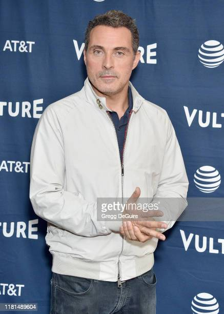Rufus Sewell arrives at the Vulture Festival Los Angeles 2019 Day 2 at Hollywood Roosevelt Hotel on November 10 2019 in Hollywood California