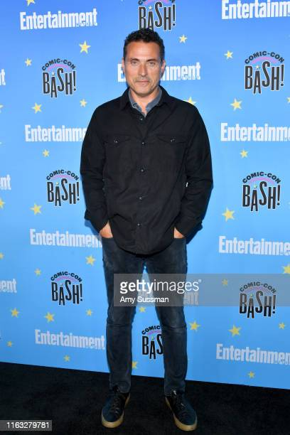 Rufus Sewell attends Entertainment Weekly's ComicCon Bash held at FLOAT Hard Rock Hotel San Diego on July 20 2019 in San Diego California sponsored...