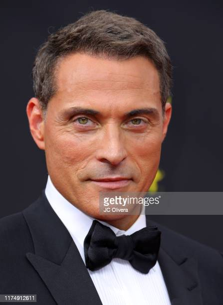 Rufus Sewell attends the 2019 Creative Arts Emmy Awards on September 15 2019 in Los Angeles California