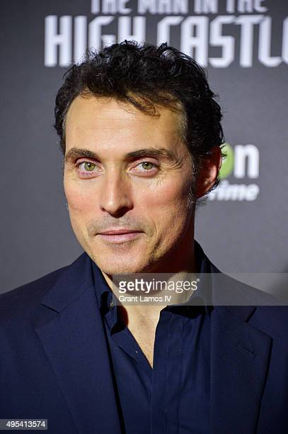 Rufus Sewell attends the episode screening and premiere for the Amazon Originals Series 'The Man In The High Castle' at Alice Tully Hall on November...