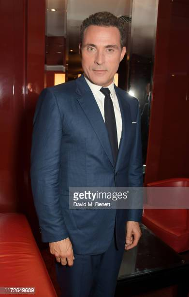 Rufus Sewell attends the Judy European Premiere after party at JW Marriott Grosvenor House London supported by PerrierJouet Champagne on September 30...