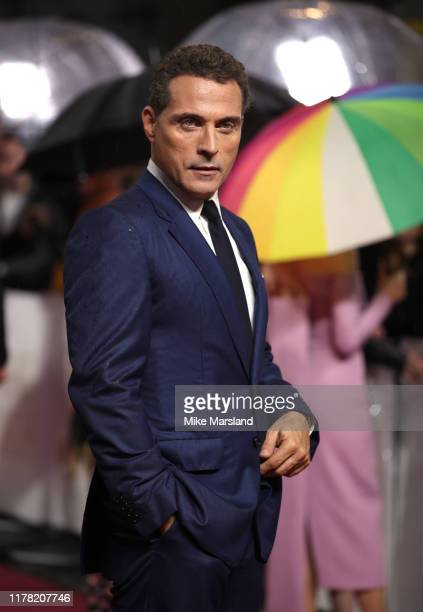 Rufus Sewell attends the Judy European Premiere at The Curzon Mayfair on September 30 2019 in London England