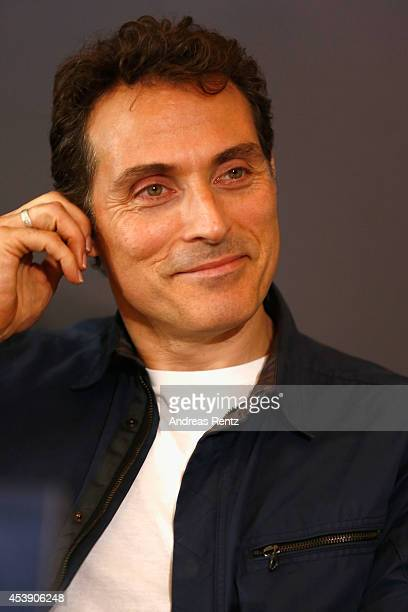 Rufus Sewell attends the press conference of Paramount Pictures 'HERCULES' at Hotel Adlon on August 21, 2014 in Berlin, Germany.