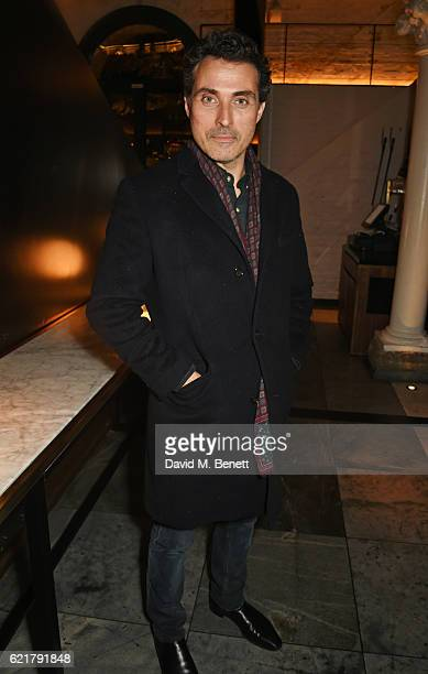 Rufus Sewell attends the press night after party for Lazarus at the King's Cross Theatre on November 8 2016 in London England