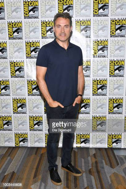 Rufus Sewell attends the 'The Man In The High Castle' Press Line during ComicCon International 2018 at Hilton Bayfront on July 21 2018 in San Diego...