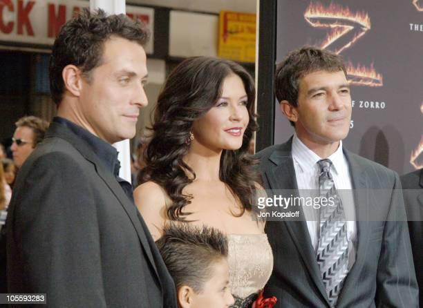 Rufus Sewell Catherine ZetaJones and Antonio Banderas