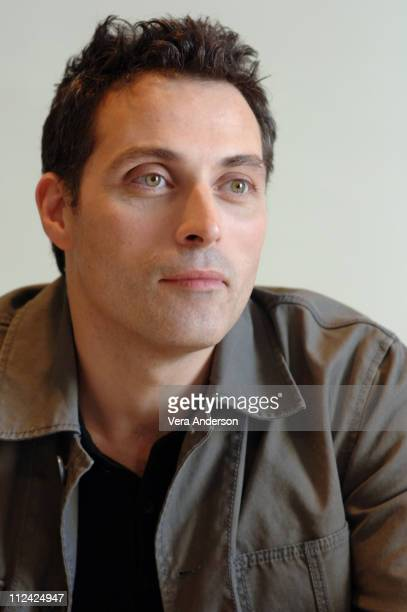 Rufus Sewell during 'The Legend of Zorro' Press Conference with Catherine ZetaJones Antonio Banderas Adrian Alonso Rufus Sewell and Martin Campbell...