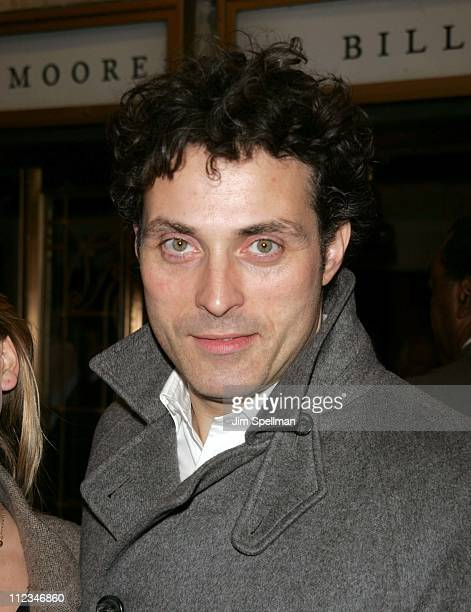 Rufus Sewell during The Vertical Hour Opening Night of David Hare's New Play at The Music Box Theater in New York City New York United States