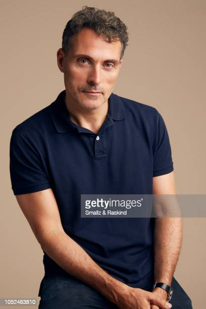 Rufus Sewell from Amazon's 'The Man in the High Castle' pose for a portrait at the Getty Images Portrait Studio powered by Pizza Hut at San Diego...