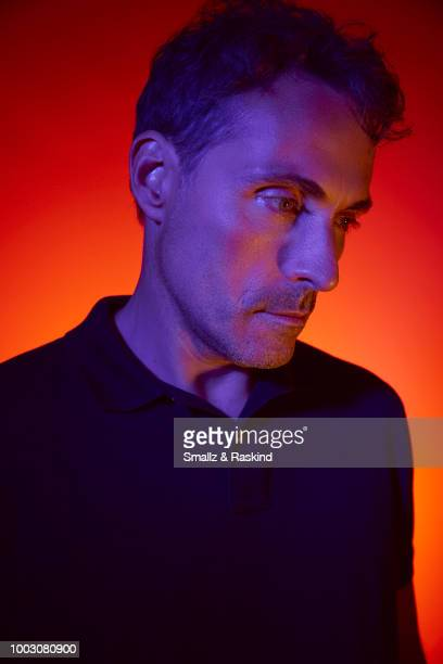 Rufus Sewell from Amazon's 'The Man in the High Castle' poses for a portrait at the Getty Images Portrait Studio powered by Pizza Hut at San Diego...
