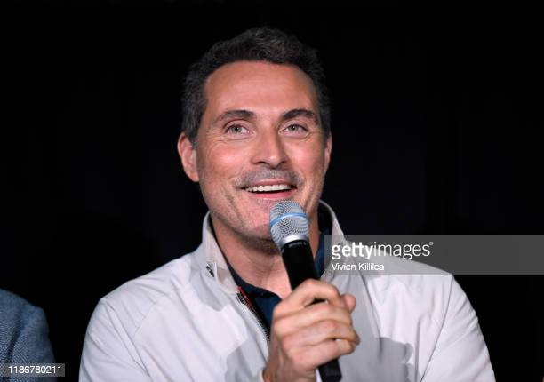 Rufus Sewell speaks onstage at Vulture Festival Presented By ATT at The Roosevelt Hotel on November 10 2019 in Hollywood California