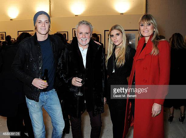 Rufus Taylor Roger Taylor Tigerlily Taylor and Deborah Leng attend a private view of Nikolai Von Bismarck's new photography exhibition 'In Ethiopia'...