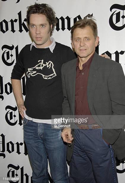 Rufus Wainwright and Mikhail Baryshnikov during Mikhail Baryshnikov and Rufus Wainwright at the 6th Annual New York Times Arts Leisure Weekend at...