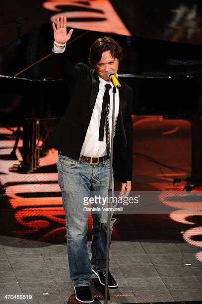 Rufus Wainwright attends second night of the 64th Festival di Sanremo 2014 at Teatro Ariston on February 19, 2014 in Sanremo, Italy.