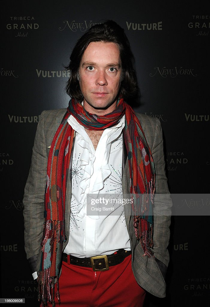 Rufus Wainwright attends 'Sing Me The Songs That Say I Love You: A Concert For Kate McGarrigle' premiere after party at Tribeca Grand Hotel on November 10, 2012 in New York City.