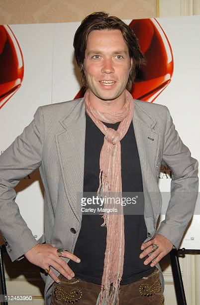 "Rufus Wainwright during ""The Devil Wears Prada"" - A Dinner and Private Auction Hosted by the St. Regis Hotel - May 23, 2006 at St. Regis Hotel in New..."