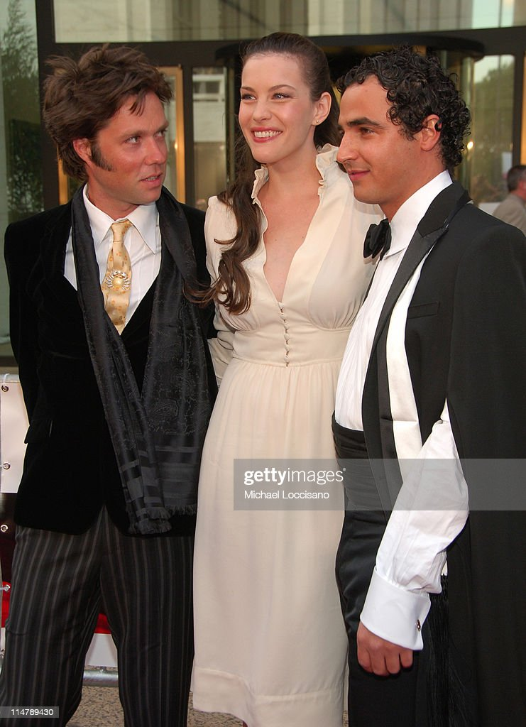 Rufus Wainwright, Liv Tyler and Zac Posen during 'Madama Butterfly' Opening Night Starting the Lincoln Center Metropolitan Opera 2006-2007 Season at Lincoln Center in New York, New York, United States.