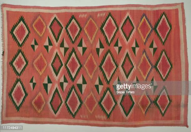 Rug, c. 1890-1900. America, Native North American, Southwest, Navajo, Post-Contact, Transitional Period. Tapestry weave: wool ; overall: 231.1 x...