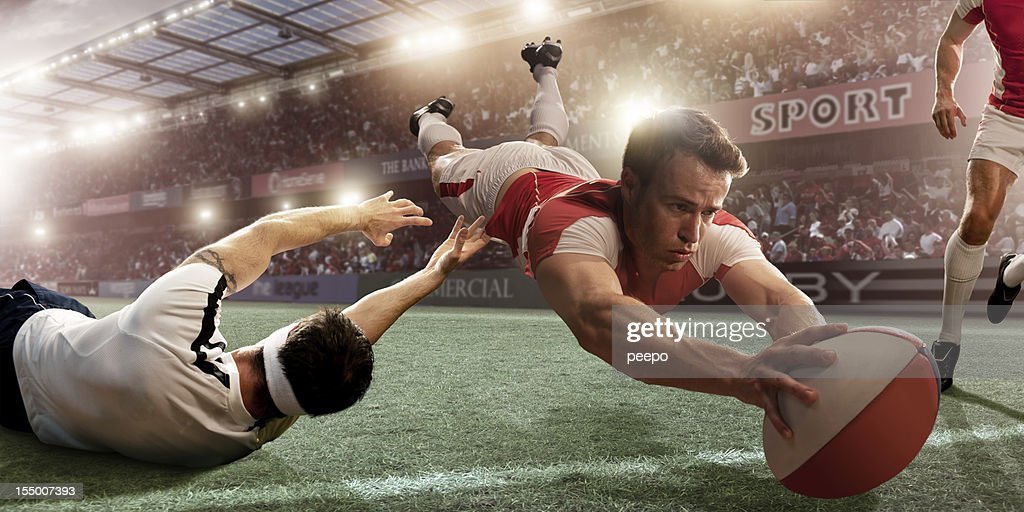 Rugby Action : Stock Photo