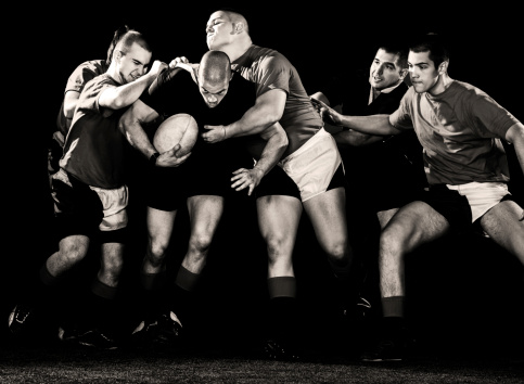 Rugby action. 166478644