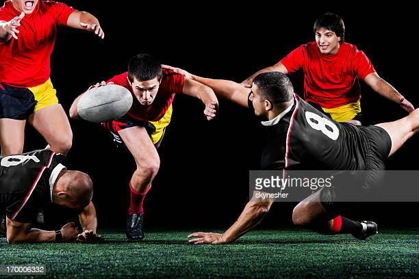 Rugby azione.