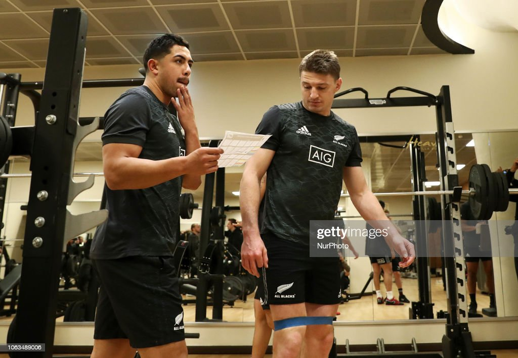 New Zealand All Blacks Media Access : ニュース写真