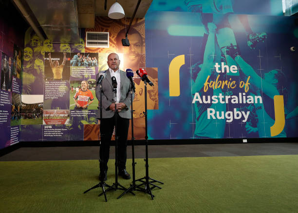 AUS: Rugby Australia CEO Press Conference