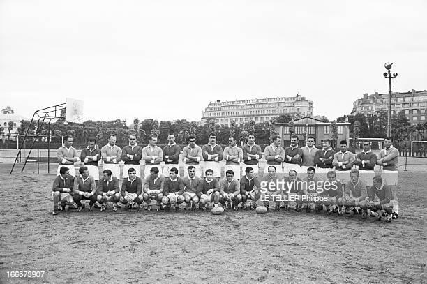Rugby France A France B Selection For The Tour In New Zealand Le 14 juin 1961 l'équipe du XV de France de rugby va disputer le tournoi des Cinq...