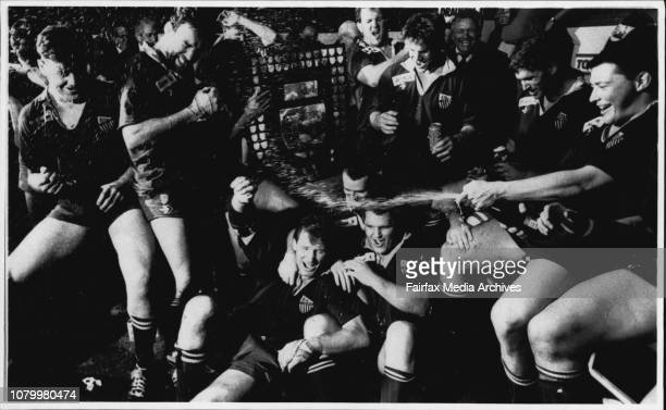 Rugby Grandfinal Randwick vs Easts Concord OvalWinners It's champagne all round as Randwick celebrate their fifth successive premiershipThe deep...